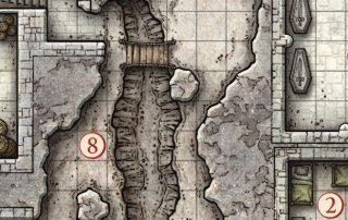 Dungeon Crawl Map